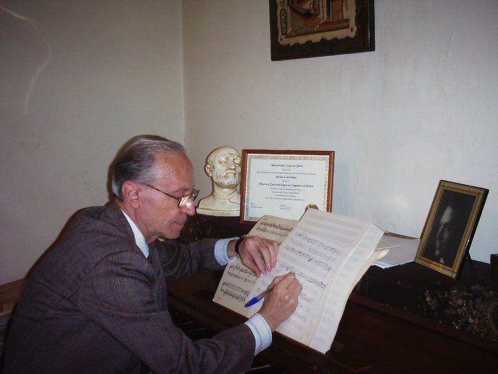 Composer Setrak Setrakian